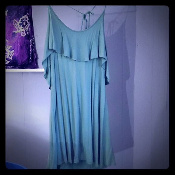 *New*  Minty Color Thread Summer Dress in Large